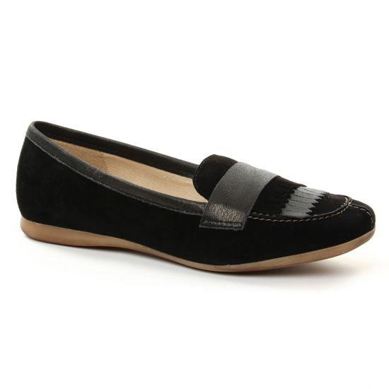 Mocassins Pintodiblu 10850 Noir, vue principale de la chaussure femme
