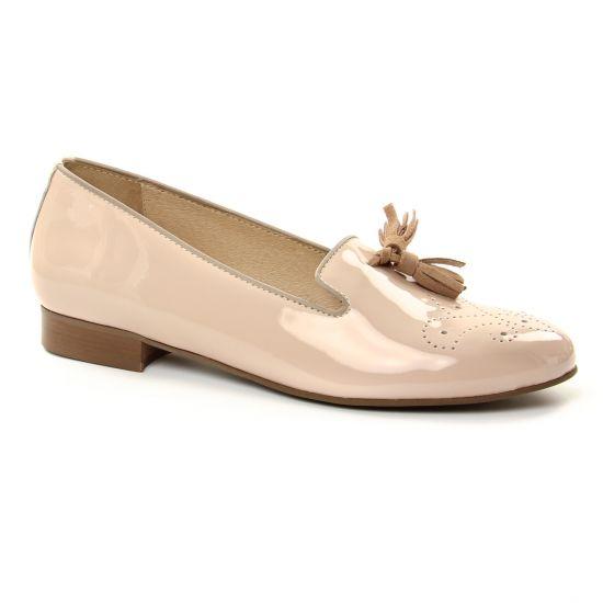 Mocassins Pintodiblu 10860 Rose, vue principale de la chaussure femme
