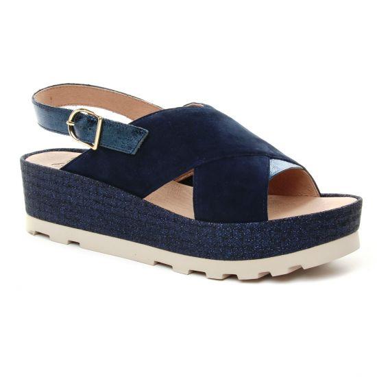 Nu Pieds Et Sandales Mamzelle Odissi Cobalte, vue principale de la chaussure femme