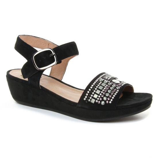 Nu Pieds Et Sandales Mamzelle Livet Noir, vue principale de la chaussure femme