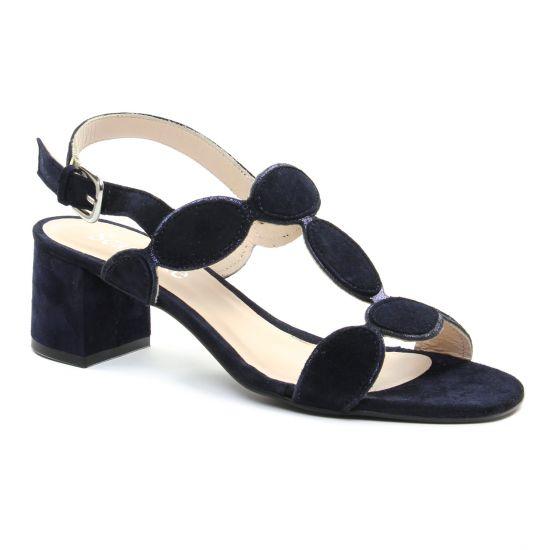 Nu Pieds Et Sandales Scarlatine 44603 River, vue principale de la chaussure femme