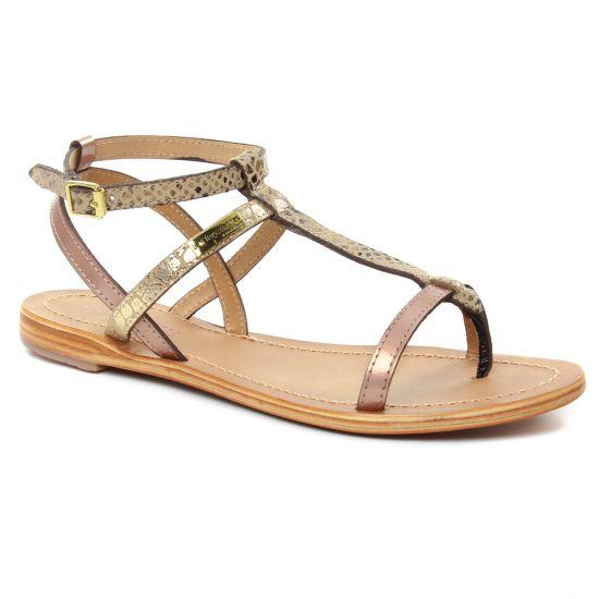Nu Pieds Et Sandales Les Tropeziennes Baie Bronze Multi, vue principale de la chaussure femme