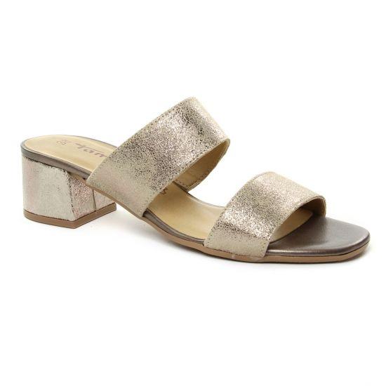 Nu Pieds Et Sandales Tamaris 27231 Champagne, vue principale de la chaussure femme