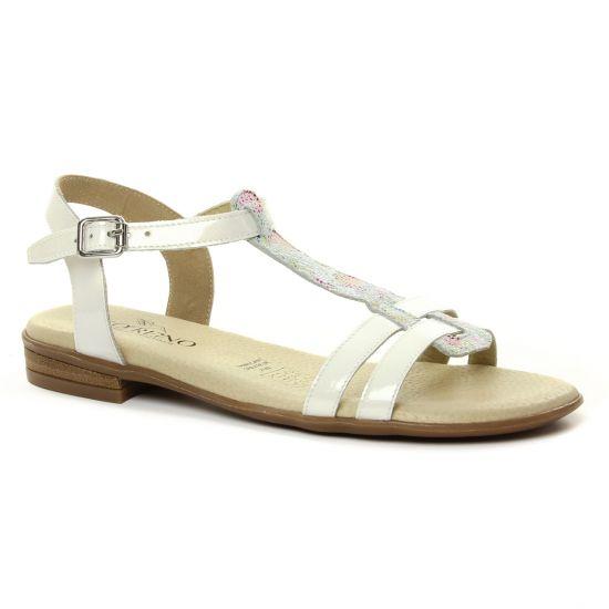 Nu Pieds Et Sandales Geo Reino Koaca Blanc Multi, vue principale de la chaussure femme