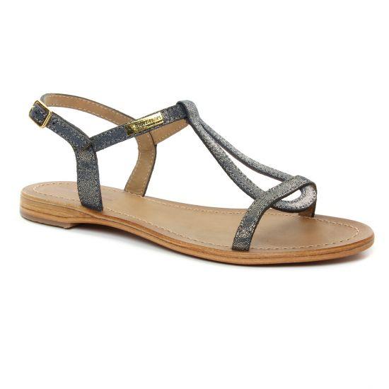 Nu Pieds Et Sandales Les Tropeziennes Hamat Marine Irise, vue principale de la chaussure femme