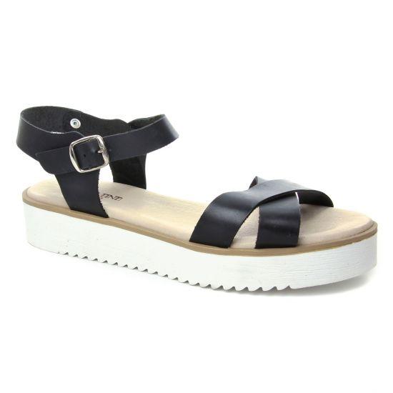 Nu Pieds Et Sandales Scarlatine 1800 Noir, vue principale de la chaussure femme