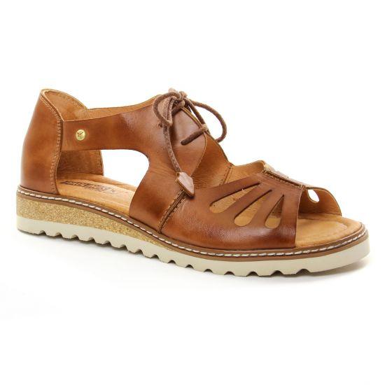aeaff004d18049 Nu Pieds Et Sandales Pikolinos W1L-0917 Brandy, vue principale de la chaussure  femme