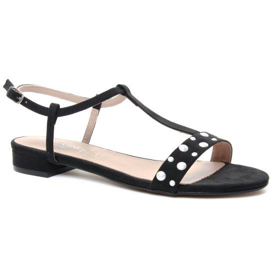 Nu Pieds Et Sandales Scarlatine 1408 Noir, vue principale de la chaussure femme