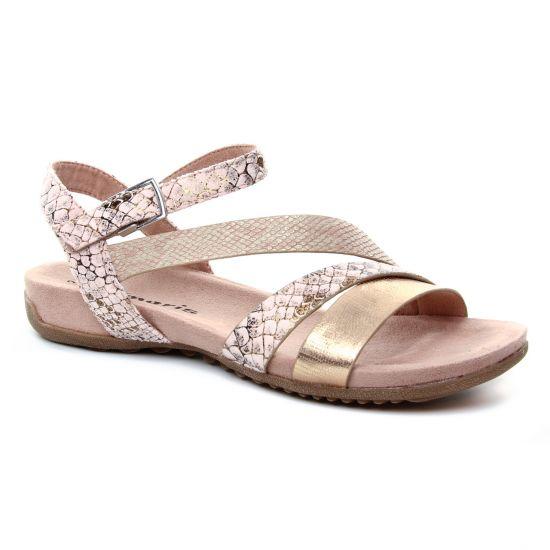 df6c53c8042cfd Nu Pieds Et Sandales Tamaris 28604 Rose, vue principale de la chaussure  femme