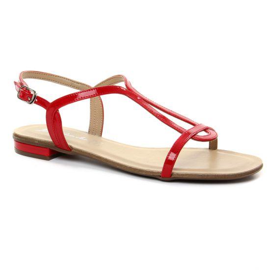 Nu Pieds Et Sandales Maria Jaen 6559 X Rojo, vue principale de la chaussure femme
