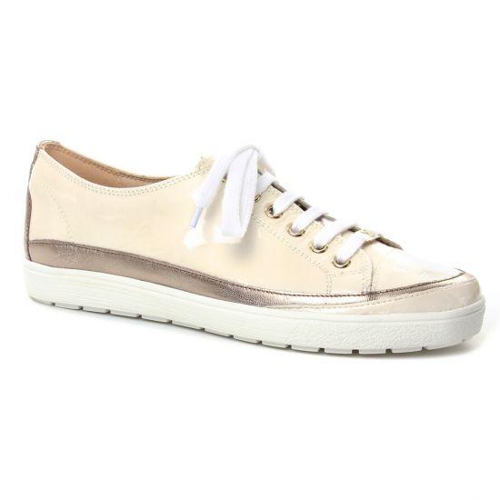 Tennis Et Baskets Mode Caprice 23654 Creme, vue principale de la chaussure femme