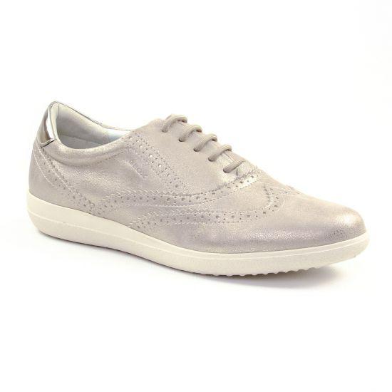 Tennis Et Baskets Mode Geox D827Lb Champagne, vue principale de la chaussure femme