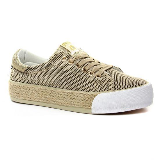 Tennis Et Baskets Mode Mtng 69155 Or, vue principale de la chaussure femme