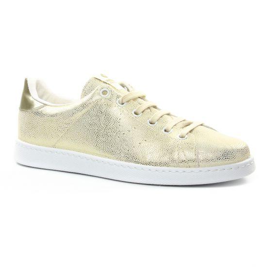 Victoria 1125161 Or | tennis blanc doré printemps été chez