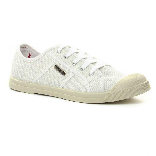 Tennis Et Baskets Mode Les Tropeziennes Floride Blanc Glitter, vue principale de la chaussure femme