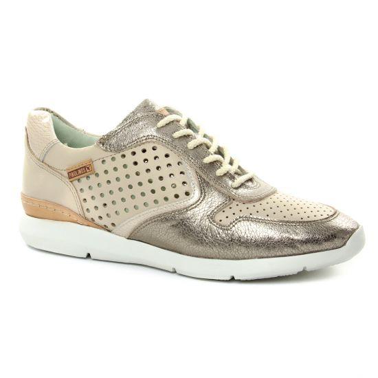 Tennis Et Baskets Mode Pikolinos Wor-6723 Marfil, vue principale de la chaussure femme