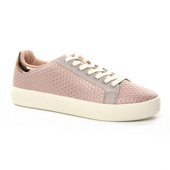 b7d659ea358470 Tennis Et Baskets Mode Tamaris 23724 Rose, vue principale de la chaussure  femme