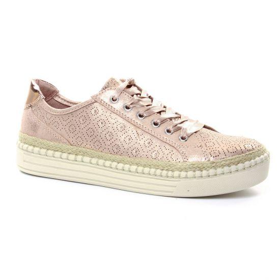 Tennis Et Baskets Mode Marco Tozzi 23760 Rose, vue principale de la chaussure femme