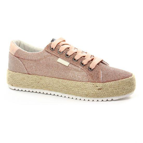 Tennis Et Baskets Mode Mtng 69152 Rose, vue principale de la chaussure femme