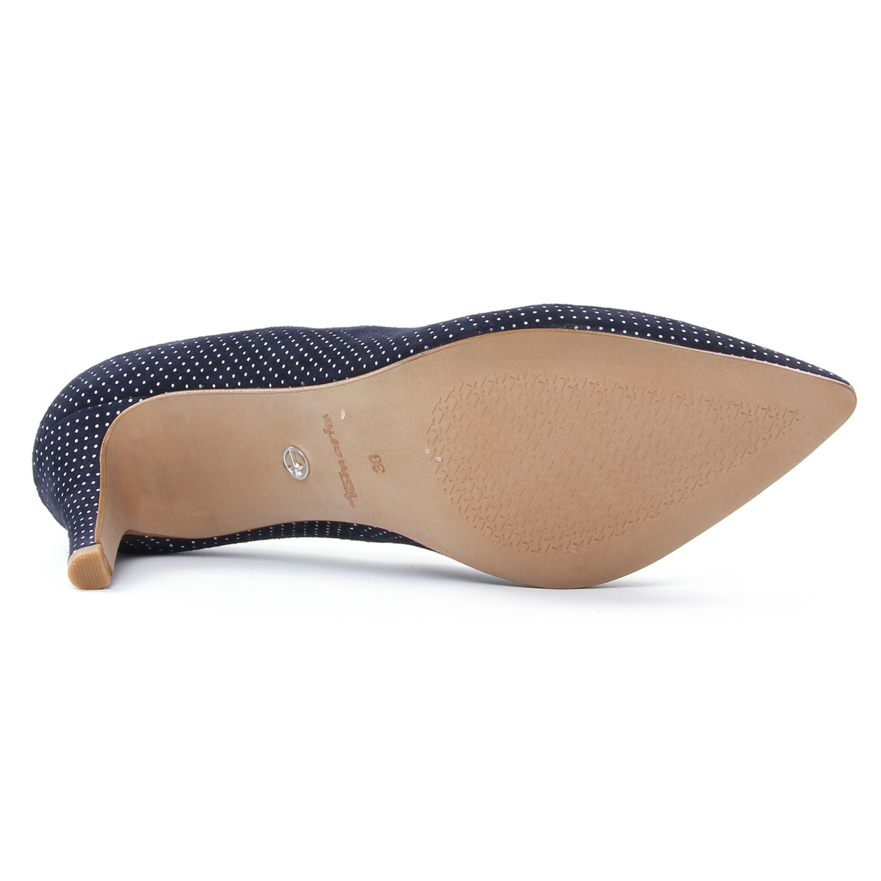 Tamaris 22494 Navy | escarpins bleu marine blanc printemps
