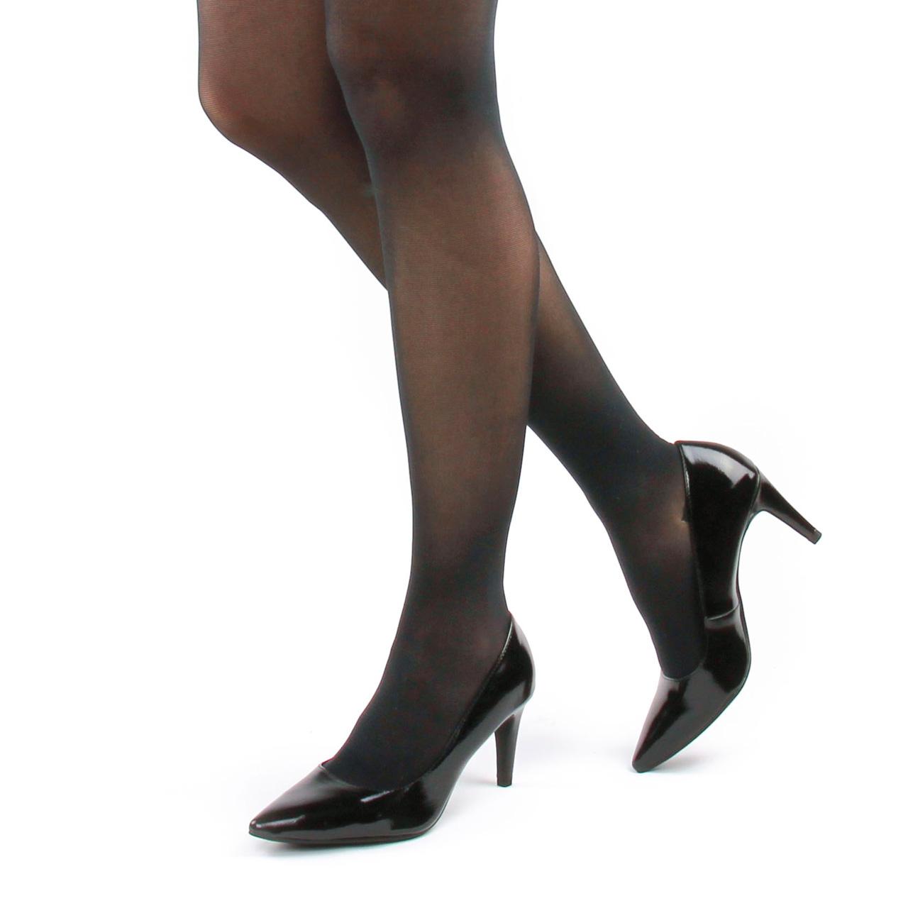 Tamaris 22447 Black Patent | escarpins noir vernis printemps