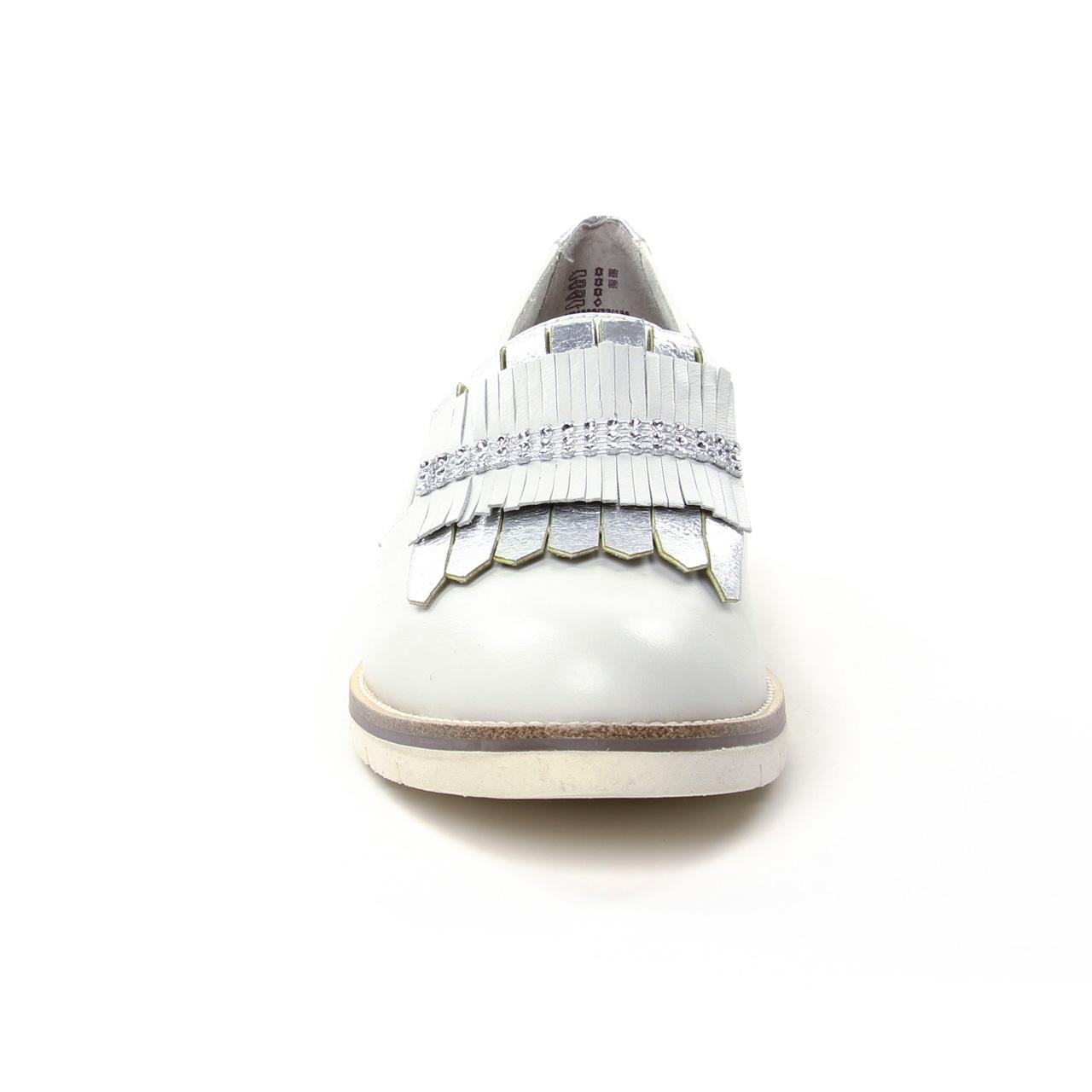 Tamaris 24305 White | Mocassin Slippers blanc printemps été