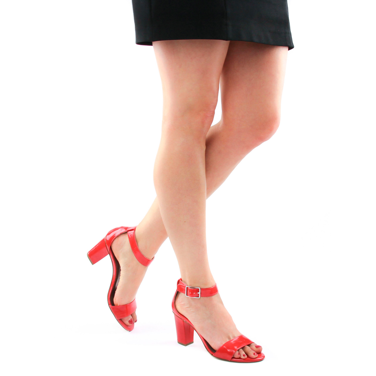 Tamaris 28018 Fire | nu pied talon hauts rouge printemps été