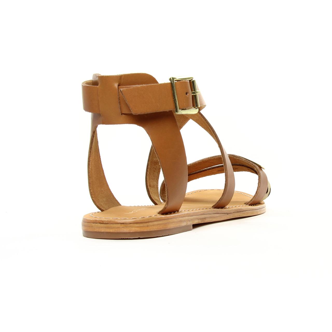 volume grand Meilleure vente gamme exclusive Les Tropeziennes Pipa Naturel | sandales marron printemps ...