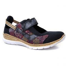 tennis bleu marine: même style de chaussures en ligne pour femmes que les Rieker