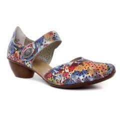 babies-talon multicolore: même style de chaussures en ligne pour femmes que les Rieker