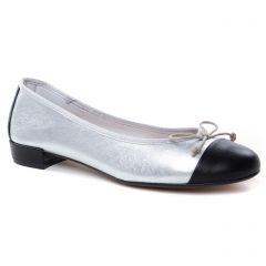 ballerines argent noir: même style de chaussures en ligne pour femmes que les Maria Jaén