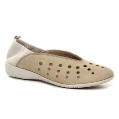 ballerines beige argent: même style de chaussures en ligne pour femmes que les Tamaris