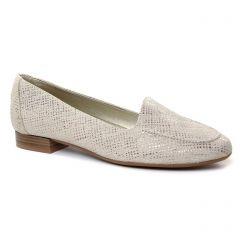 mocassins beige doré: même style de chaussures en ligne pour femmes que les Maria Jaén