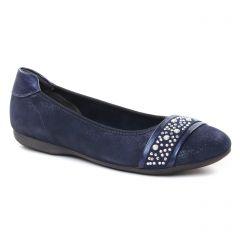 ballerines-confort bleu marine: même style de chaussures en ligne pour femmes que les Marco Tozzi