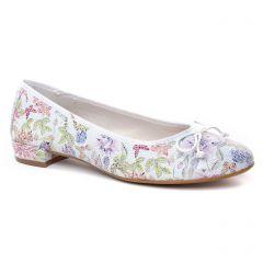 ballerines blanc multi: même style de chaussures en ligne pour femmes que les Maria Jaén