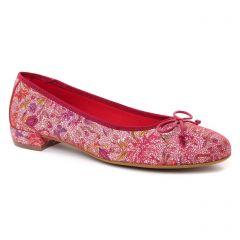 ballerines rouge multi: même style de chaussures en ligne pour femmes que les Tamaris