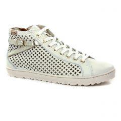 Chaussures femme été 2019 - baskets mode Pikolinos blanc