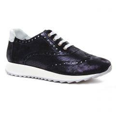 baskets-mode bleu marine: même style de chaussures en ligne pour femmes que les Geo Reino