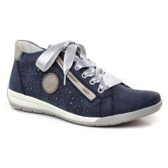 baskets-mode bleu marine: même style de chaussures en ligne pour femmes que les Rieker
