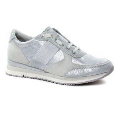baskets-mode gris argent: même style de chaussures en ligne pour femmes que les Marco Tozzi
