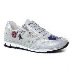 baskets-mode gris argent: même style de chaussures en ligne pour femmes que les Remonte