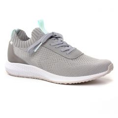 Chaussures femme été 2019 - baskets mode tamaris gris