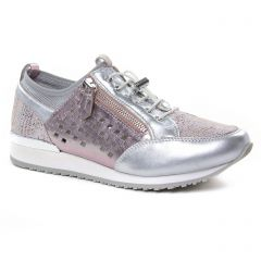 baskets-mode rose argent: même style de chaussures en ligne pour femmes que les Caprice