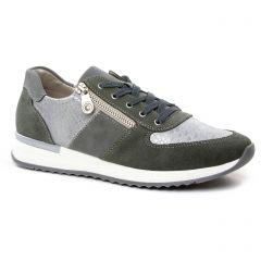 baskets-mode vert argent: même style de chaussures en ligne pour femmes que les Marco Tozzi