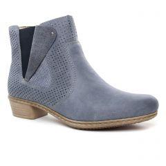 boots-ete bleu argent: même style de chaussures en ligne pour femmes que les Tamaris