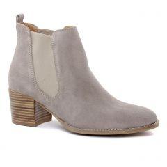 Chaussures femme été 2019 - boots élastiquées tamaris beige