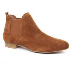 Chaussures femme été 2019 - boots élastiquées Scarlatine marron