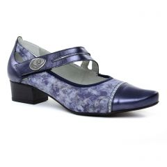 Chaussures femme été 2019 - babies confort Dorking bleu multi