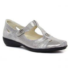 Chaussures femme été 2019 - babies confort Geo Reino gris argent