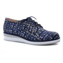derbys bleu marine: même style de chaussures en ligne pour femmes que les Fugitive